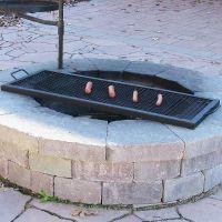 Improbable Fire Pit Grill Grates | Garden Landscape