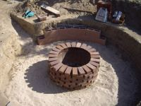 Fantastic Homemade Brick Fire Pit | Garden Landscape
