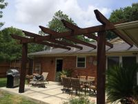 Low Price Pergola Attached To House Roof