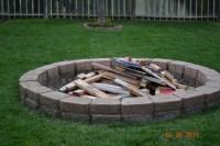 Insider Building Fire Pit In Backyard | Garden Landscape