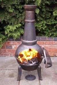 Benefits Wood Burning Chiminea Fire Pit