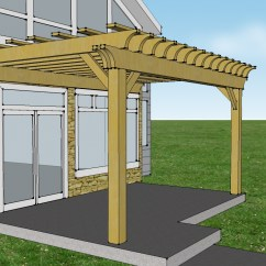Outdoor Kitchen Patio Ideas Drawer Liners Insider Pictures Of Pergola Attached To House | Garden ...