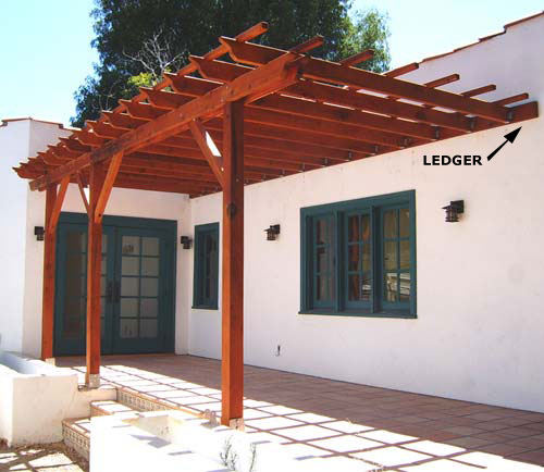 Fabulous How To Build A Pergola Attached To The House Video