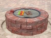 Insider Brick Fire Pit Grill | Garden Landscape