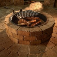 Incredible Fire Pit Ring Grate