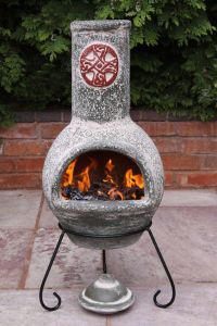 Improbable Large Chiminea Fire Pit