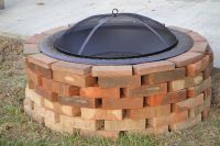 Review Brick Lined Fire Pit | Garden Landscape