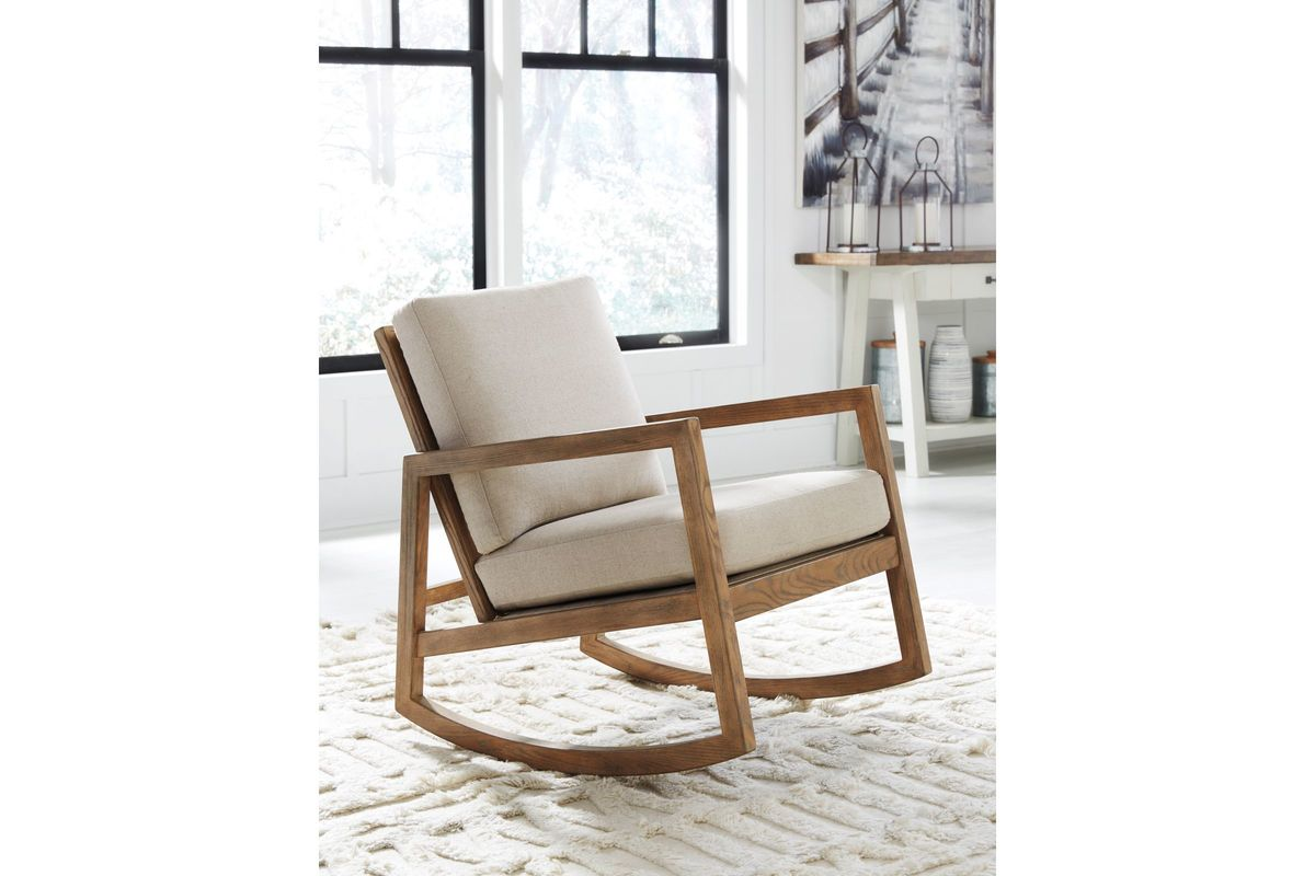 Accent Rocking Chairs Novelda Accent Rocking Chair By Ashley At Gardner White