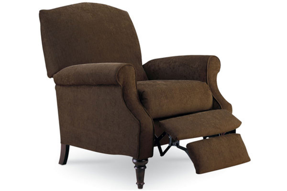 Push Back Chair Chloe Walnut Push Back Recliner At Gardner White