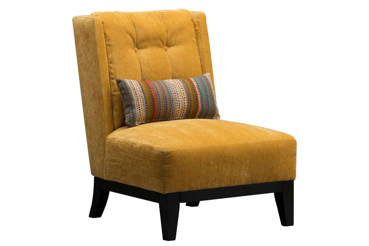 Armless Accent Chairs Bennett Armless Accent Chair At Gardner White