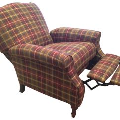 Recliner Accent Chairs Lightweight Caravan Dory Plaid At Gardner White