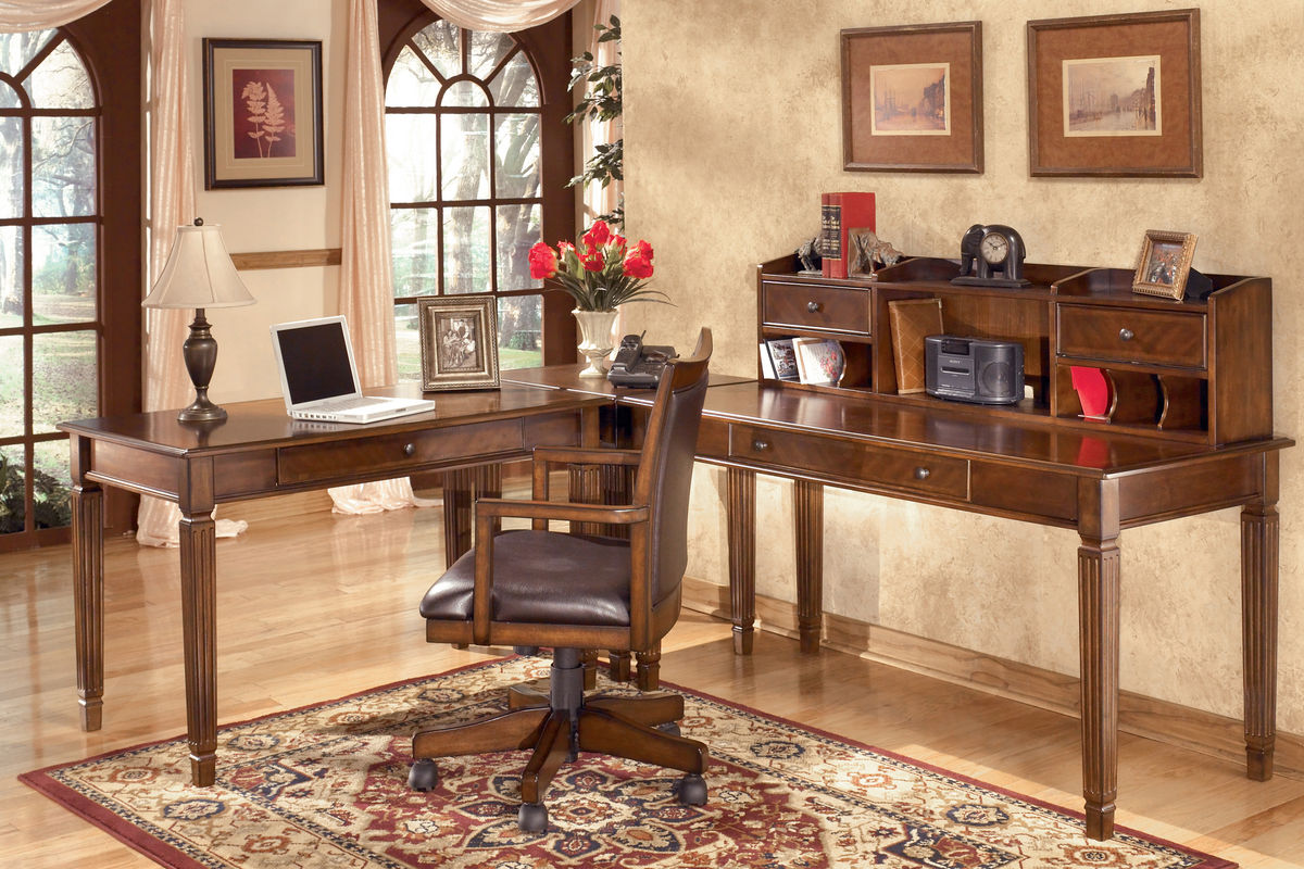 Home Office Desk Chair Hamlyn Home Office Swivel Desk Chair By Ashley At Gardner