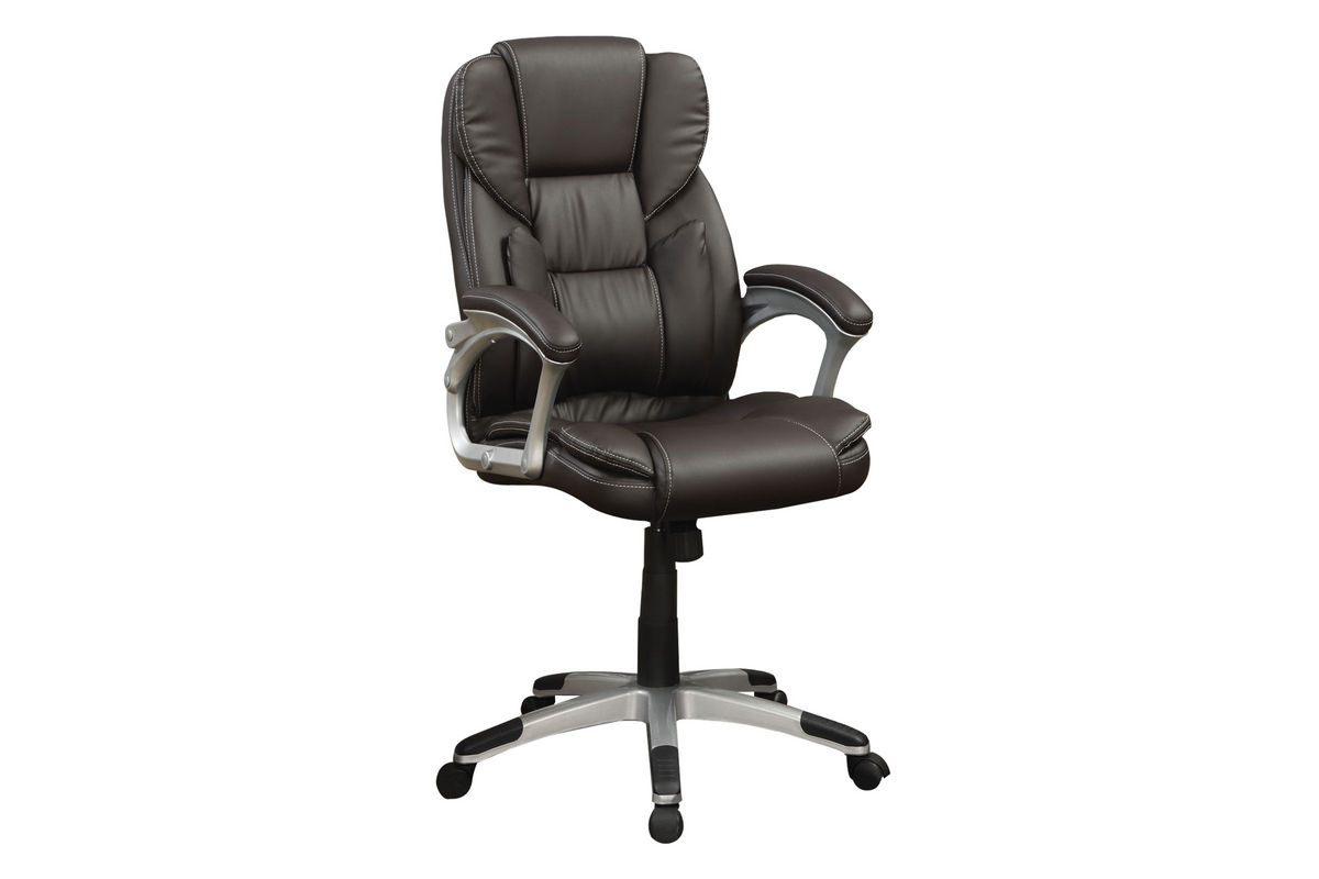 Brown Leather Office Chairs Brown Leather Office Chair 800045 At Gardner White