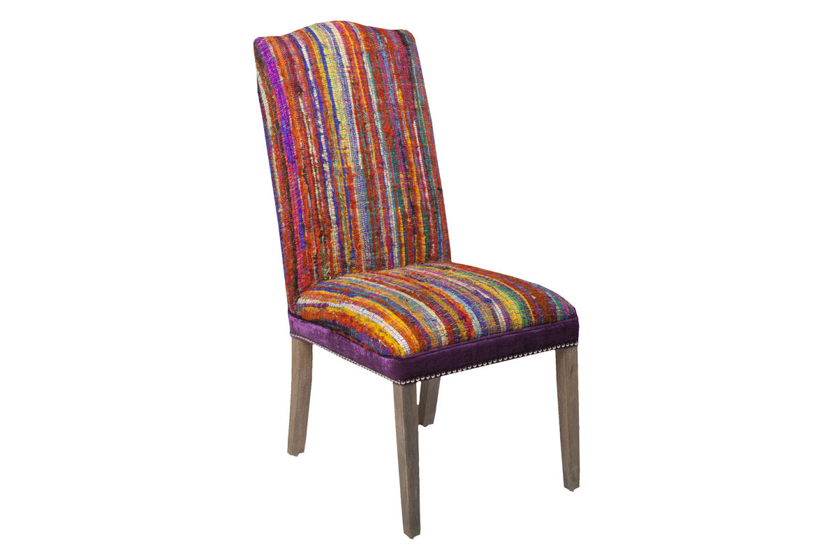 Multi Colored Accent Chairs Surya Multi Colored Accent Chair At Gardner White