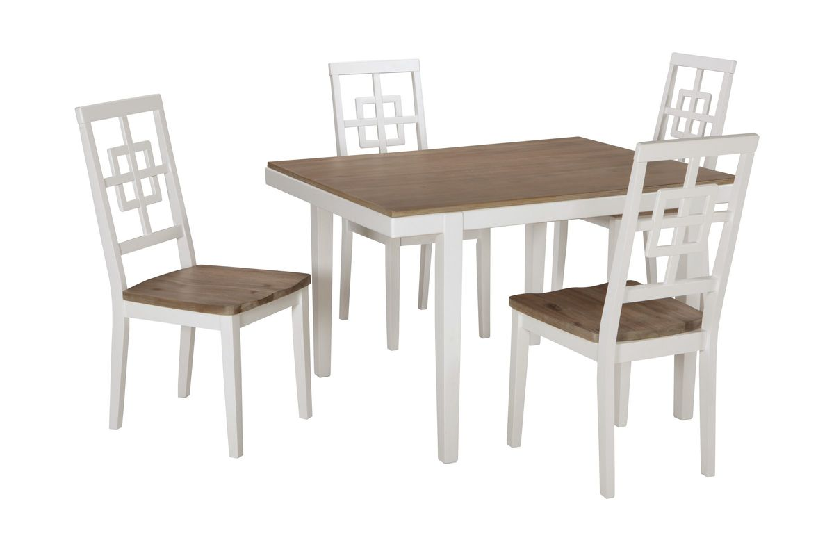 Ashley Furniture Table And Chairs Brovada Dining Table 43 4 Chairs By Ashley At Gardner White