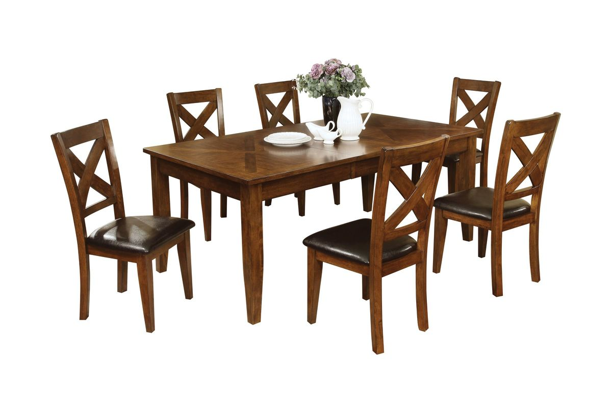 Dining Table And 6 Chairs Lidia Dining Table 43 6 Chairs At Gardner White