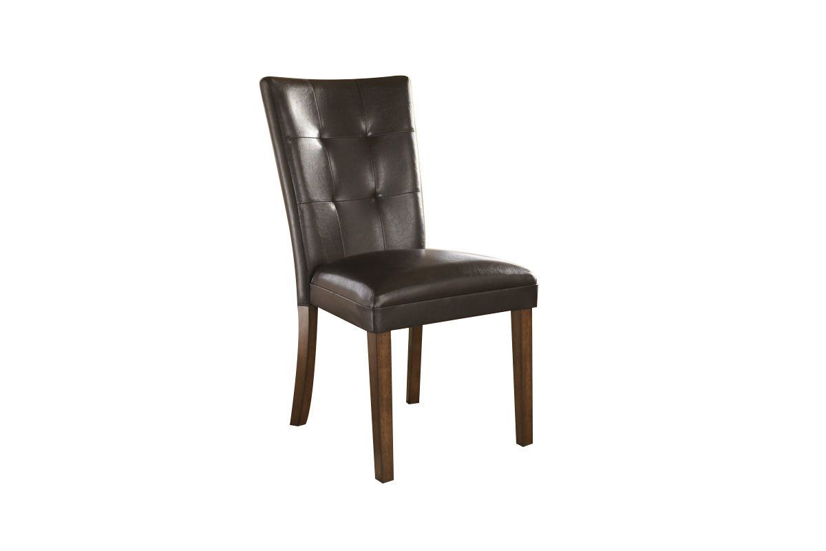 Ashley Chairs Lacey Dining Side Chairs In Medium Brown Set Of 2 By Ashley