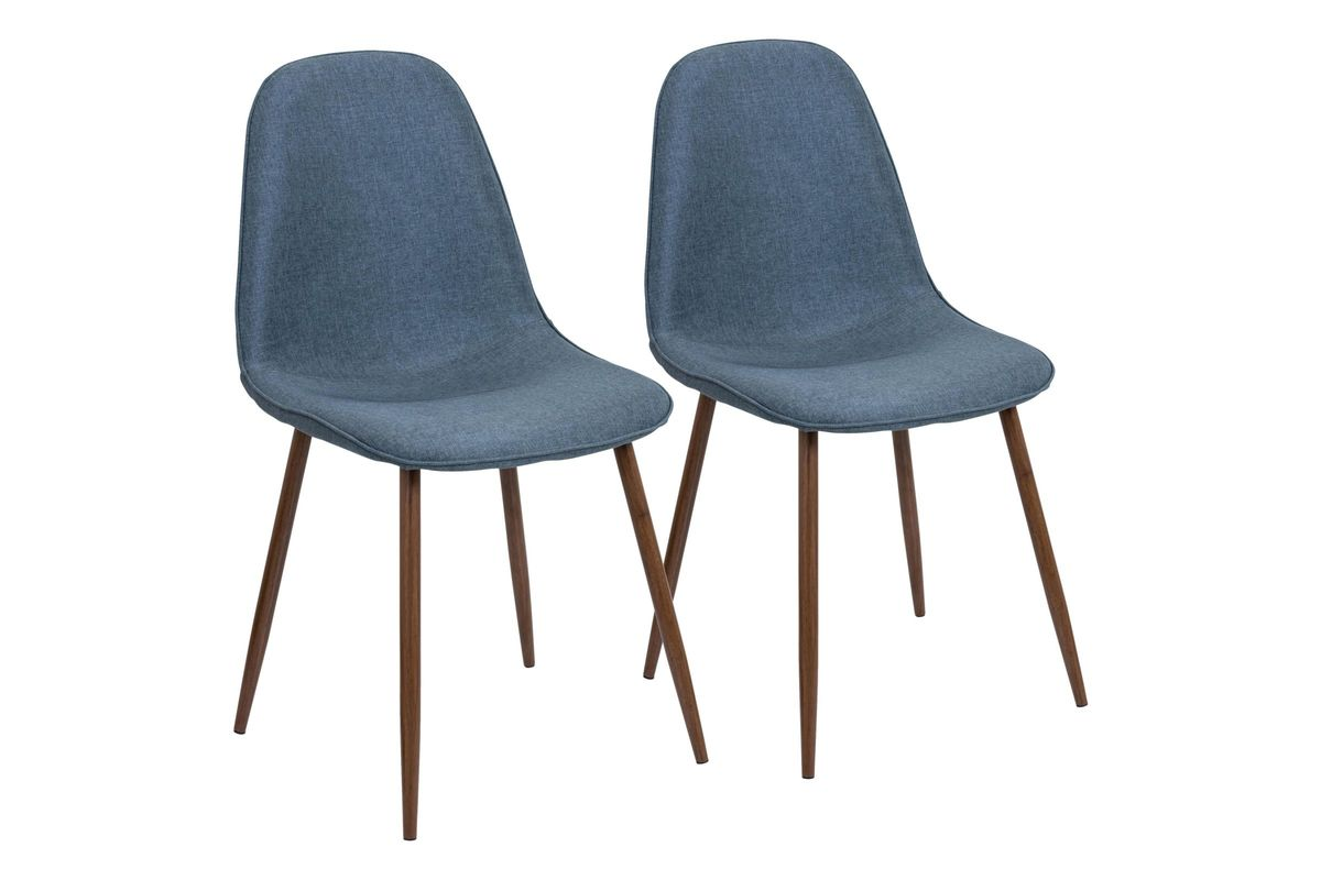 Mid Century Dining Chairs Pebble Mid Century Modern Dining Chairs Set Of 2 In