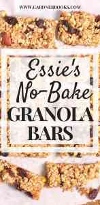 essie's no bake granola bars