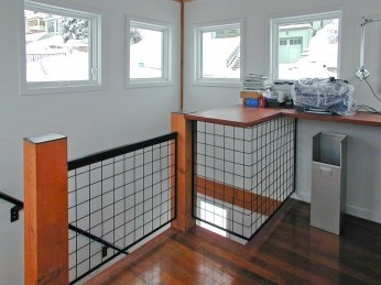 Upper level studio