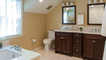 Before After Master Bath Expansion In Wynnewood On The Level - Bathroom expansion before and after
