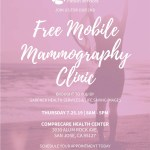 7/25/19 – 2nd Free Mobile Mammography Clinic
