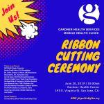 6/20/19 – Mobile Health Clinic Ribbon Cutting
