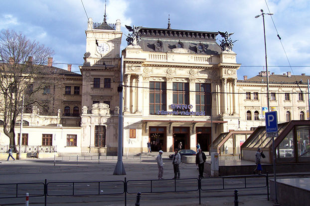 gare centrale de Brno