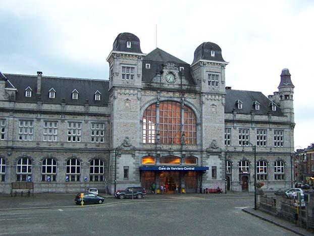 gare centrale de Verviers