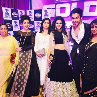 Jigyasa-group-Zee Tv Gold Awards 2016