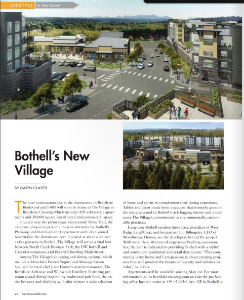 Bothell's New Village