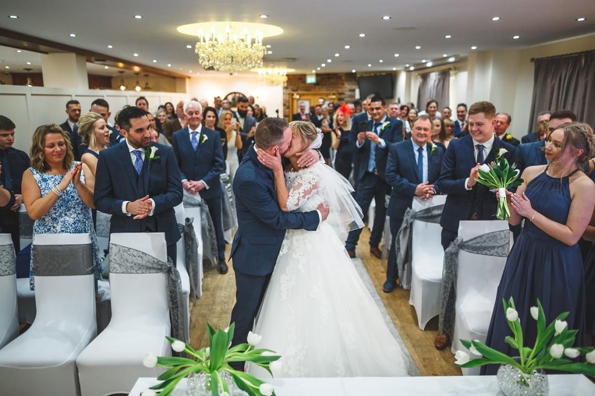 Matt  Leannes White Hart Inn wedding photography