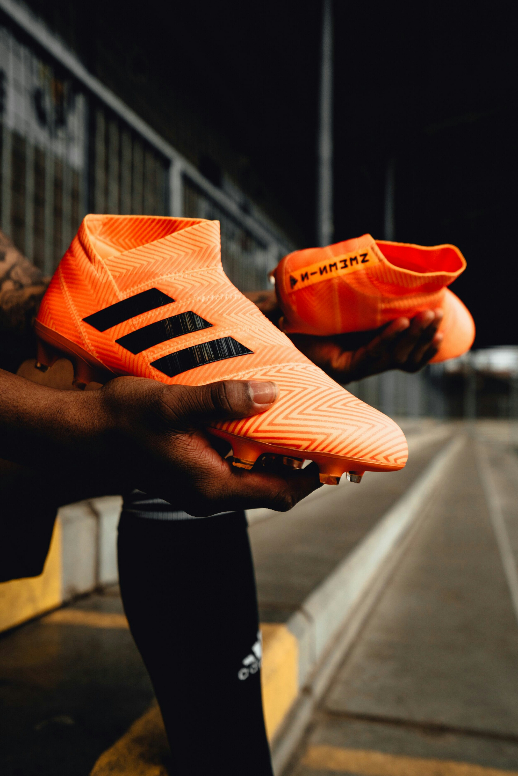d3b6676803d7 adidas Football has finally released the Energy Mode NEMEZIZ 18+ 360  AGILITY, part of the new Energy Mode pack. Coming in a new electric orange  colourway ...