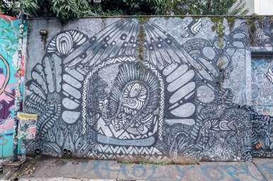 beco do batmen grafite