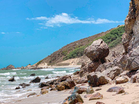 trilha jericoacoara praia
