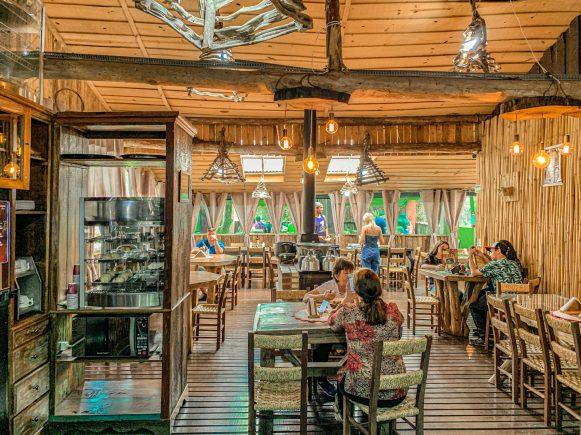 restaurante cascata caracol