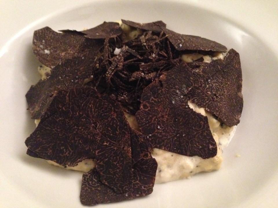Oeufs brouillés aux truffes chez Ma Cuisine