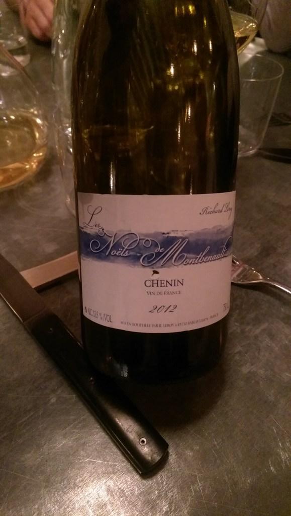 2012 Richard Leroy Les Noels de Montbenault Vin de France