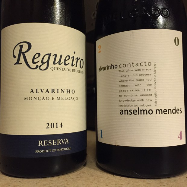 Two Alvarinhos.