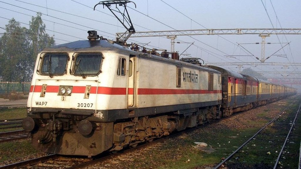 Indian Train at 250 KMPH Speed