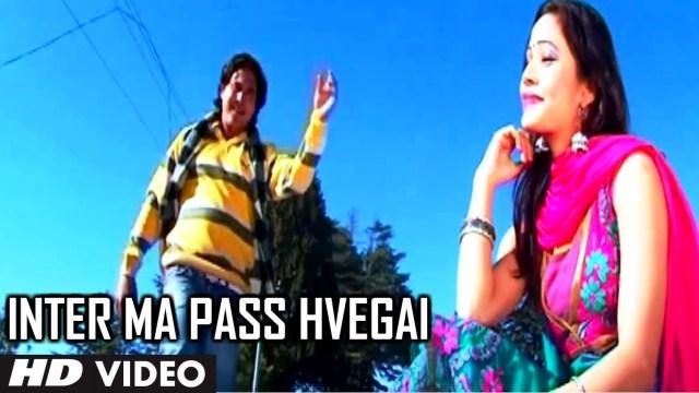 Inter Ma Pass Hvegai Video Song (Latest Uttrakhandi Song) – Dyur Bauji Farar Album Vikas Khatri