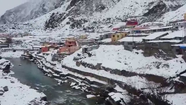 Visit To Badrinath Temple Uttarakhand January 2014