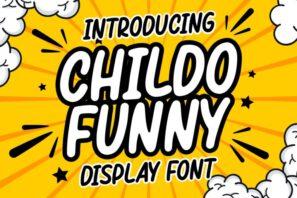 Childo - Funny Font