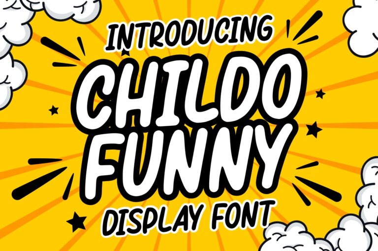 Preview image of Childo – Funny Font