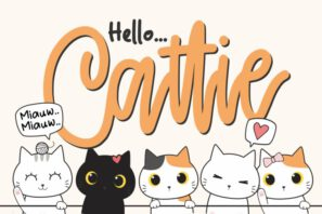 Cattie - Crafty Font