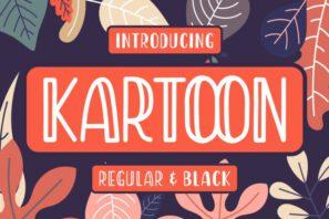 Kartoon - Display Font