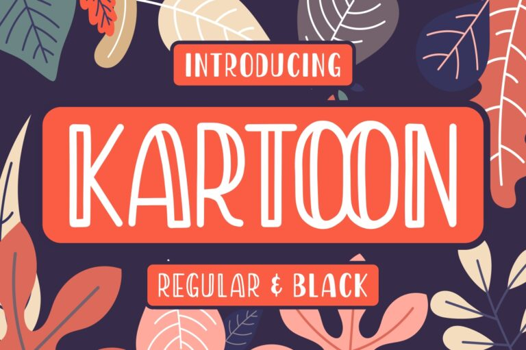 Preview image of Kartoon – Display Font