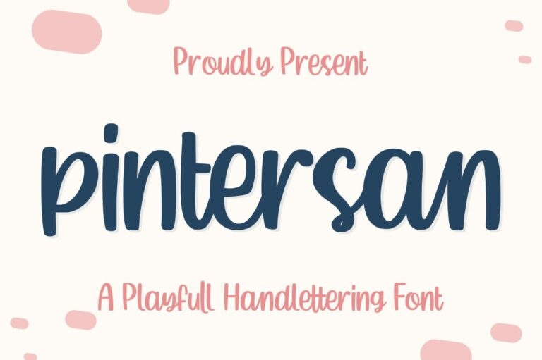 Preview image of Pintersan – FREE FONT OCTOBER