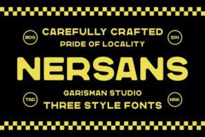 Nersans - Vintage Font