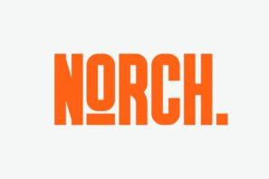 GR Norch - Sporty Typeface